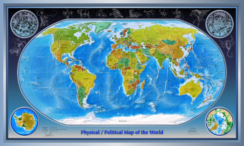 Physical_Political_World_Map