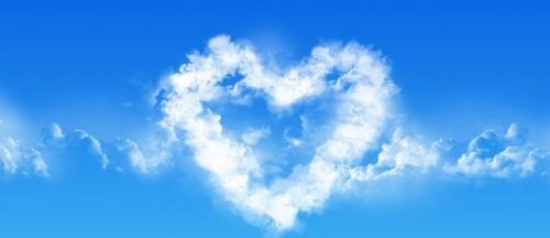 Nuvem coração 2