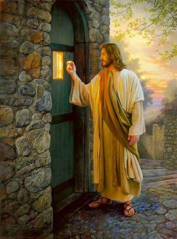 Jesus visitando