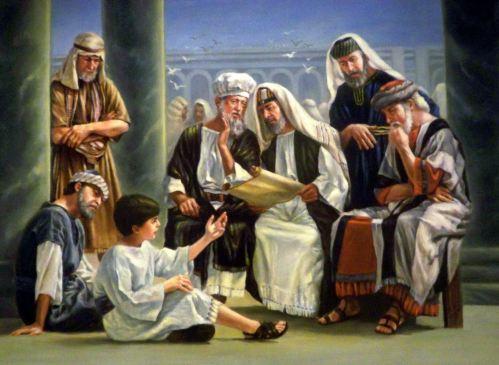 Jesus Menino pregando